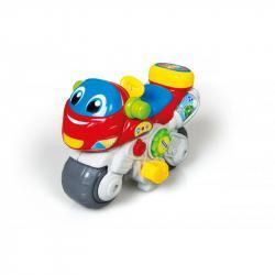 Interaktivní zábavná motorka