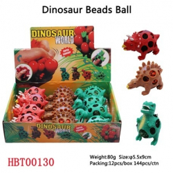 Dinosaurus kuličkami mačkací