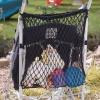 CLIPPASAFE Síťová taška na kočárek, Black