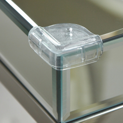 CLIPPASAFE Plastikowa ochrona szklanych narożników