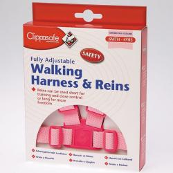 CLIPPASAFE Vodítko pre dieťa, ružové