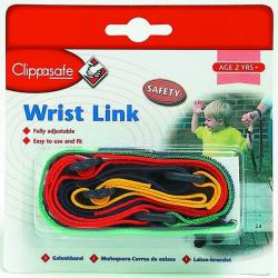 CLIPPASAFE Smycz na rękę dla dzieci, multicolor