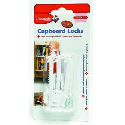 CLIPPASEFE Blokada do szafek lub szuflad, 6 szt