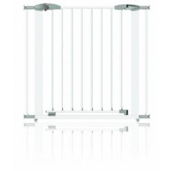 CLIPPASAFE barierka SWING (KOV)72,5-95 cm, biała