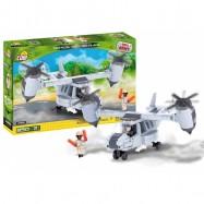 Stavebnice Small Army Letadlo se svislým vzletem, 250 k, 3 f