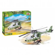 Stavebnice Small Army EAGLE útočná helikoptéra, 150 k, 2 f