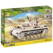 stavebnice tank II WW Panzer III ausf J, 400 k, 2 f