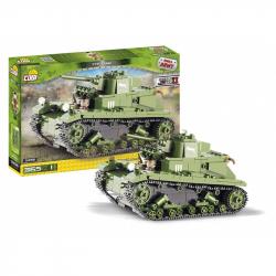 Klocki Cobi 2456 Small Army Polski czołg lekki 7TP