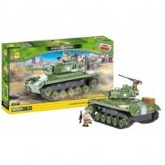 Stavebnice II WW Tank M24 Chaffee, 350 k, 1 f