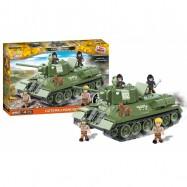 Stavebnice T-34/76 z filmu Čtyři z tanku a pes, 490 k, 5 f