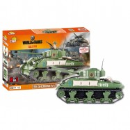 Stavebnice WORLD OF TANKS Sherman A1/Firefly 2v1 450 k, 1 f
