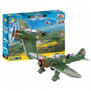 Stavebnice letadlo II WW PZL P-23B Karas, 280 k, 2 f