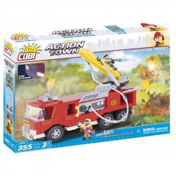 COBI - Action Town Duży wóz strażacki