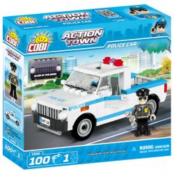 Cobi 1546 ACTION TOWN – Policejní auto 100 k, 1 f