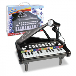 Elektronické piano s mikrofónom