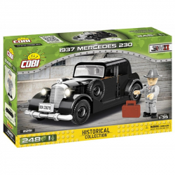 COBI 2251 World War II Německé civilní vozidlo 1937 MERCEDES 230