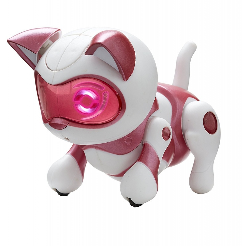 TEKSTA mládě Skákací koťátko (růžové)