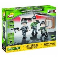Cobi 2027 SMALL ARMY – 3 figurky s doplňky Německá armáda