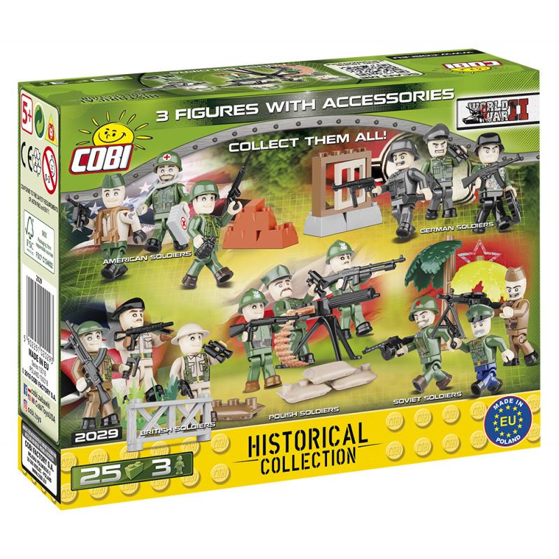 Cobi 2029 WWII armáda Polská Figurky vojáků