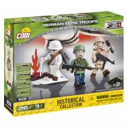 COBI 2031 3 figurky s doplňky Německé elitní jednotky, 26 k