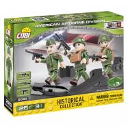 Cobi 2033 SMALL ARMY – 3 figurky s doplňky Americká letecká divize, 26 k