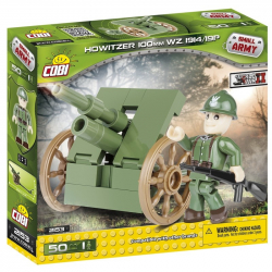 Cobi 2153 SMALL ARMY - Houfnice 100 mm Starachowice 50 k, 1 f