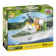 Cobi 2154 SMALL ARMY – Patrolovací člun Shark, 60 k, 1 f