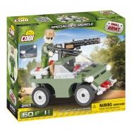 Cobi 2155 SMALL ARMY – Vojenské vozidlo, 60 k, 1 f