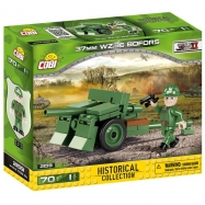 Cobi 2159 SMALL ARMY Bofors 37 mm wz.36, 70 k, 1 f