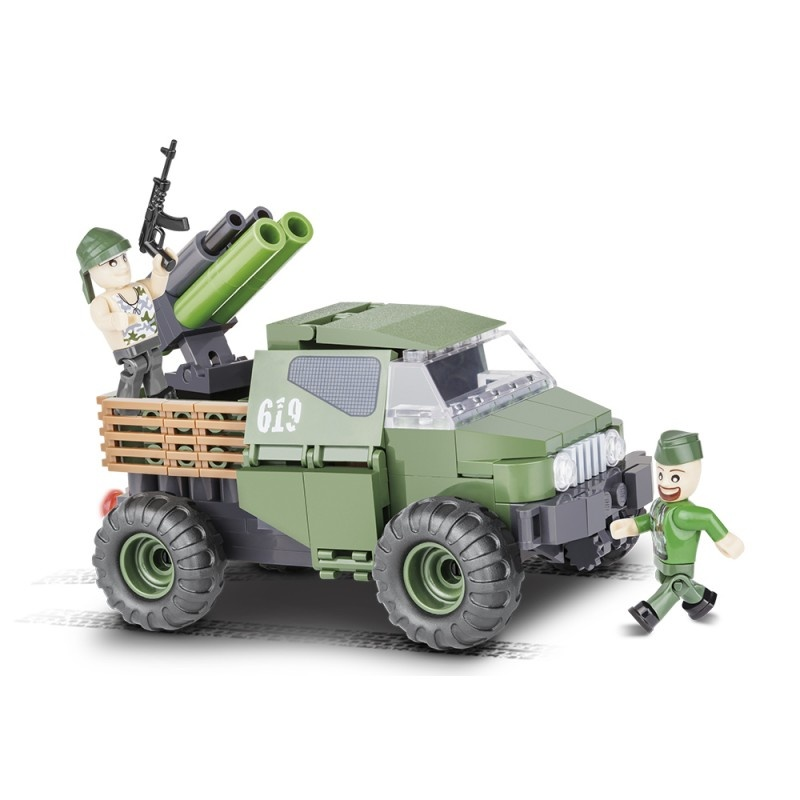 Cobi 2160 SMALL ARMY - 4WD Pickup 150 k, 2