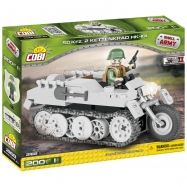Cobi 2168 SMALL ARMY - II WW SdKfsz 2 NSU HK-101, 200 k, 1 f
