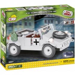 Cobi 2187 SMALL ARMY - II WW VW Kubelwagen typ 82, 150 k, 1 f