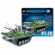 Tank PT-76 na dálkové ovládání (I/R a Bluetooth)