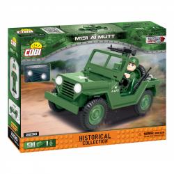 Cobi 2230 SMALL ARMY – Vietnam War: terénní automobil 151 A1 MUTT, 91 k, 1 f