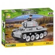 Cobi 2384 SMALL ARMY – II WW LT vz. 38 PzKpfw 38 t, 380 k, 1 f