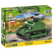Cobi 2392 SMALL ARMY – II WW TK-3 Tankette, 250 k, 1 f