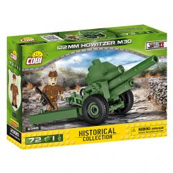 Cobi 2395 SMALL ARMY – II WW Howitzer M-30, 72 k, 1 f
