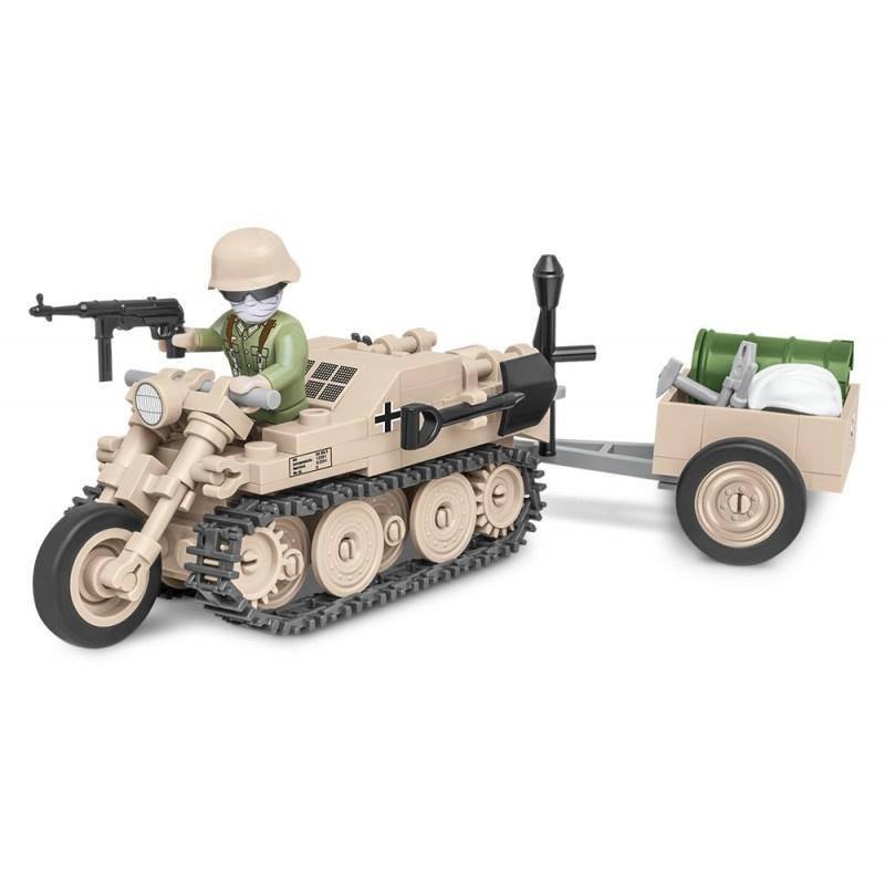 Polopásové vozidlo Sd.Kfz. 2 Kettenkrad HK 101 COBI 2401 - World War II