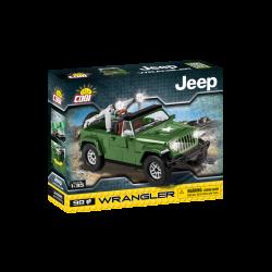 Cobi 24095 Jeep Wrangler vojenský, 1:35, 98 k