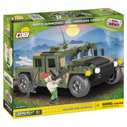 Cobi 24304 NATO terénní vozidlo zelené, 255 k, 1 f