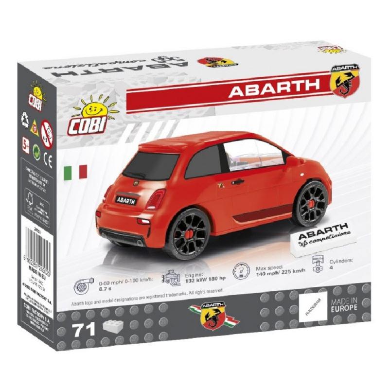 Zestaw Fiat Abarth 595, 1:35, 71 KM