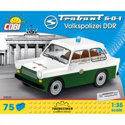 COBI 24520 Youngtimer Automobil TRABANT 601 Volkspolizei DDR