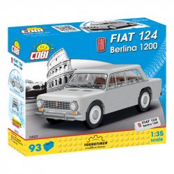 Cobi 24521 Youngtimer Fiat 124 Berlina 1200, 1 : 35, 93 k