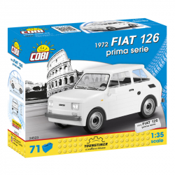 Cobi 24523 Youngtimer Fiat 126 prima serie, 1 : 35, 71 k