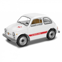 Stavebnica Fiat 500 Abarth 595, 1:35, 70 k