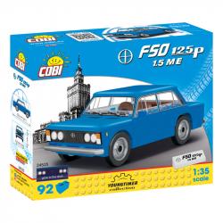 COBI 24525 Youngtimer Automobil Polski Fiat FSO 125p 1.5ME