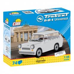 Cobi 24540 Youngtimer Trabant 601 Universal, 1:35, 74 k