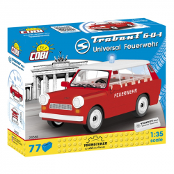 Cars Trabant 601 Universal Feuerwehr 77 klocków
