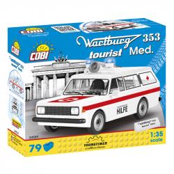 COBI 24559 Youngtimer Automobil WARTBURG 353 Tourist Sanitka