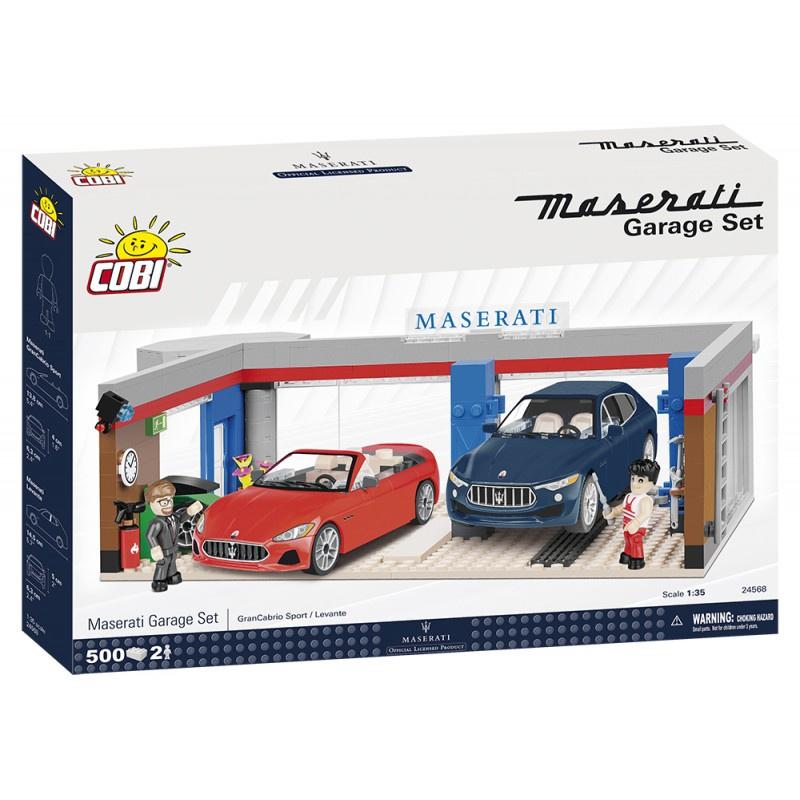 COBI 24568 Maserati Garáž set